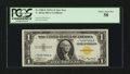 Small Size:World War II Emergency Notes, Fr. 2306* $1 1935A North Africa Silver Certificate. PCGS Choice About New 58.. ...