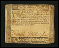 Colonial Notes:Maryland, Maryland December 7, 1775 $8 Very Fine....