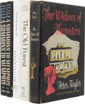 Books:First Editions, Peter Taylor. Five Books, including: The Widows of Thornton.Signed. [and:] The Old Forest and Other Stories... (Total: 5Items)
