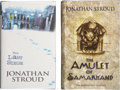Books:Signed Editions, Jonathan Stroud. Two Signed First Editions, including: The Last Siege. [and:] The Amulet of Samarkand. Both ... (Total: 2 Items)