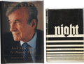 Books:Signed Editions, Elie Wiesel. Two Signed Books, including: Night. New York: Hill and Wang, [1958]. First edition in dust jacket. [and... (Total: 2 Items)