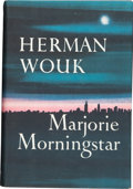 Books:Signed Editions, Herman Wouk. Marjorie Morningstar. Garden City: Doubleday,1955. First edition. Signed on title page. Modest fox...