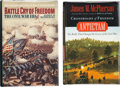 Books:Signed Editions, James M. McPherson. Two Signed First Editions, including: Battle Cry of Freedom. [and:] Antietam. Both books... (Total: 2 Items)