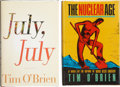 Books:Signed Editions, Tim O'Brien. Two Signed First Editions, including: The Nuclear Age. [and:] July, July. Both copies in fine c... (Total: 2 Items)