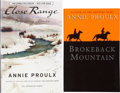 Books:Signed Editions, Annie Proulx. Two Signed First Editions, including: Close Range.Wyoming Stories. Advance proof. [and:] Brokebac... (Total: 2Items)