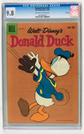 Silver Age (1956-1969):Cartoon Character, Donald Duck #67 File Copy (Dell, 1959) CGC NM/MT 9.8 Off-white to white pages....