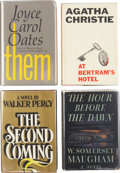 Books:First Editions, Four First Editions from Literary Giants, including: W. SomersetMaugham. The Hour Before the Dawn. 1942. [and:]... (Total: 4Items)