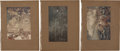 Antiques:Posters & Prints, Arthur Rackham. Signature and Ten Tipped-On Color RackhamIllustrations. From the limited signed edition of L'Oeuvre d...(Total: 11 Items)