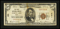 National Bank Notes:Maine, Portland, ME - $5 1929 Ty. 1 The First NB Ch. # 221. ...