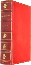 Books:Signed Editions, William Makepeace Thackeray. Vanity Fair. A Novel Without aHero. London: Bradbury and Evans, 1848....