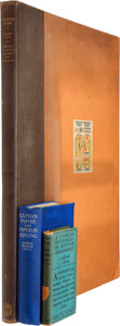 Books:Non-fiction, Three Books on Egyptology, including: M. Brodrick and A. A. Morton.A Concise Dictionary of Egyptian Archaeology... (Total: 3Items)