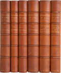 Books:Non-fiction, John Henry Parker. Six Volumes on Roman Archeology, publishedbetween 1876 and 1879. All uniformly bound in half leather; al...(Total: 6 Items)