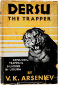 Books:First Editions, Malcolm Burr. Dersu the Trapper. New York: E. P. Dutton,1941. First edition. Rubbed and toned with small dampst...