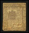 Colonial Notes:Delaware, Delaware May 1, 1777 6s Very Fine-Extremely Fine.. ...