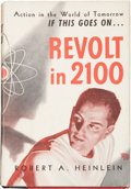 Books:First Editions, Robert A. Heinlein. Revolt in 2100. Chicago: ShastaPublishers, 1953....