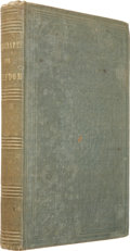 Books:First Editions, [Julia Griffiths, editor]. Autographs For Freedom. Boston:John P. Jewett and Company, 1853.. First edition. Small...