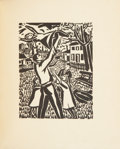 Books:First Editions, Frans Masereel. Mein Stundenbuch. [Munich]: Kurt Wolff,[1920].. One of 50 limited edition copies printed on K...