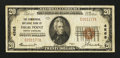 National Bank Notes:North Carolina, High Point, NC - $20 1929 Ty. 1 The Commercial NB Ch. # 4568. ...