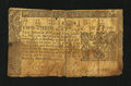 Colonial Notes:Maryland, Maryland March 1, 1770 $2/3 Good....