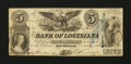 Obsoletes By State:Louisiana, New Orleans, LA - Bank of Louisiana $5 May 22, 1862. ...