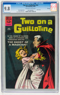 Silver Age (1956-1969):Horror, Movie Classics: Two On a Guillotine #nn File Copy (Dell, 1965) CGCNM/MT 9.8 Off-white to white pages....