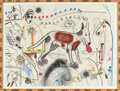 Post-War & Contemporary:Contemporary, ROY DEAN DE FOREST (American, 1930-2007). Untitled, 1978.Mixed media on paper. 22-1/2 x 30 inches (57.2 x 76.2 cm). Sig...