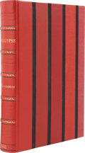 Books:First Editions, D. H. Lawrence. Apocalypse. Florence: G. Orioli, 1931.Edition limited to 750 copies, of which this is number 58...