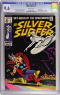 Silver Age (1956-1969):Superhero, The Silver Surfer #4 (Marvel, 1969) CGC NM+ 9.6 Off-white pages....