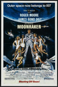 "Movie Posters:James Bond, Moonraker (United Artists, 1979). One Sheet (27"" X 41"") Advance.James Bond. ..."