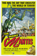 "Movie Posters:Science Fiction, The Deadly Mantis (Universal International, 1957). One Sheet (27"" X41""). ..."