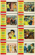"""Movie Posters:Elvis Presley, Loving You (Paramount, 1957). Lobby Card Set of 8 (11"""" X 14""""). ...(Total: 8 Items)"""