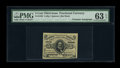 Fractional Currency:Third Issue, Fr. 1236 5¢ Third Issue Courtesy Autograph PMG Choice Uncirculated 63 EPQ....