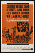 "Movie Posters:Bad Girl, House of Women (Warner Brothers, 1962). One Sheet (27"" X 41""). BadGirl. ..."