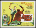 "Movie Posters:Adventure, Sword of Sherwood Forest (Columbia, 1960). Half Sheet (22"" X 28"").Adventure..."