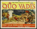 "Movie Posters:Historical Drama, Quo Vadis (MGM, 1951). Title Lobby Card (11"" X 14""). Drama. ..."