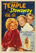 "Movie Posters:Musical, Stowaway (20th Century Fox, 1936). One Sheet (27"" X 41""). ..."