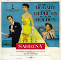 "Movie Posters:Romance, Sabrina (Paramount, 1954). Six Sheet (81"" X 81"")...."
