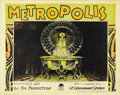 "Movie Posters:Science Fiction, Metropolis (UFA, 1927). Lobby Card (11"" X 14"")...."