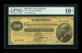 Large Size:Gold Certificates, Fr. 1175a $20 1882 Gold Certificate PMG Very Good 10 Net....