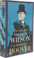 Books:Signed Editions, Herbert Hoover Signed and Numbered Presentation Edition Book:The Ordeal of Woodrow Wilson. New York: McGraw-Hill, 1...