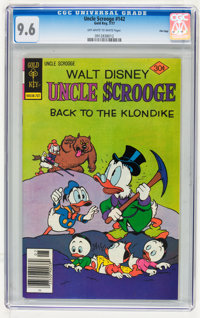 Uncle Scrooge #142 File Copy (Gold Key, 1977) CGC NM+ 9.6 Off-white to white pages