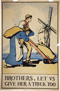 Political:Posters & Broadsides (1896-present), Woman's Suffrage: Suffrage Poster....