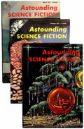 Pulps:Science Fiction, Astounding Stories Box Lot (Street & Smith, 1955-60) Condition:Average VF.... (Total: 2 Box Lots)
