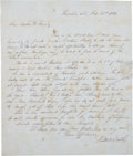 Autographs:Statesmen, Hawaii: Two Autograph Letters Signed from new arrivals to Hawaii.(1) John Mott Smith Autograph Letter Signed. One page,... (Total: 2Items)