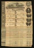 Confederate Notes:1864 Issues, T69 $5 1864. Thirty Examples.. ... (Total: 30 notes)