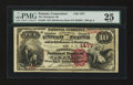 National Bank Notes:Connecticut, Putnam, CT - $10 1882 Brown Back Fr. 485 The Thompson NB Ch. # 1477. ...