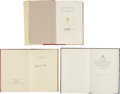 Books:Signed Editions, Three Books Signed by Presidents... (Total: 3 Items)