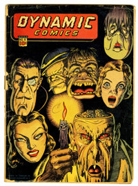 Dynamic Comics #8 (Chesler, 1944) Condition: FR