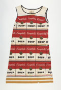 Post-War & Contemporary:Pop, After ANDY WARHOL (American, 1928-1987). The Souper Dress.Color screenprint on a cotton paper a-line dress. 36 x 22-1/2...