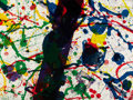 Post-War & Contemporary:Abstract Expressionism, SAM FRANCIS (American, 1923-1994). Untitled (from MichelWaldberg: Poèmes dans le ciel) (2), 1986. Colorlithograph ... (Total: 2 Items)